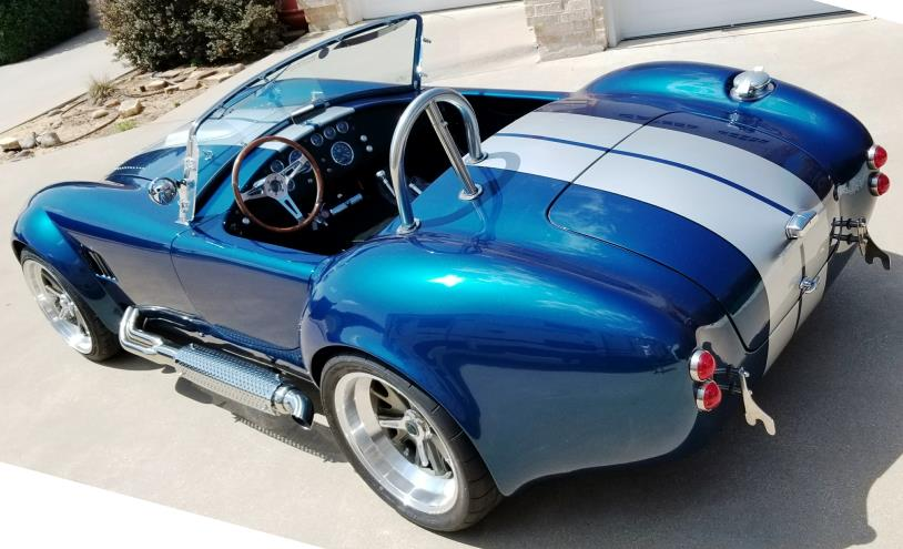 Backdraft Racing Roadster & Superformance Replicas For Sale